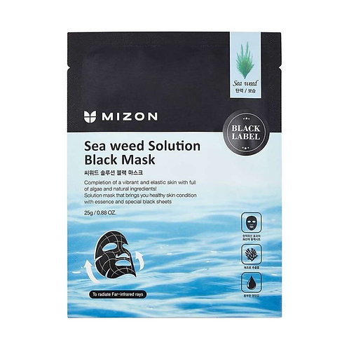 Mizon Sea Weed Solution Black Mask