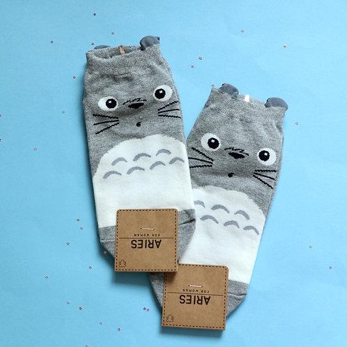 Totoro Sneaker Socks
