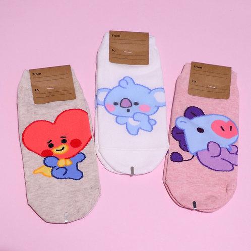 BT21 Character Socks
