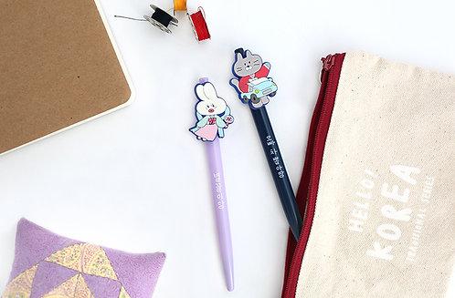 Hello Korea Gel Pen Set