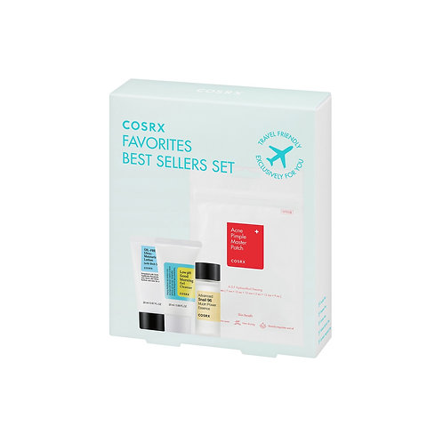 Cosrx Travel Best Sellers Set