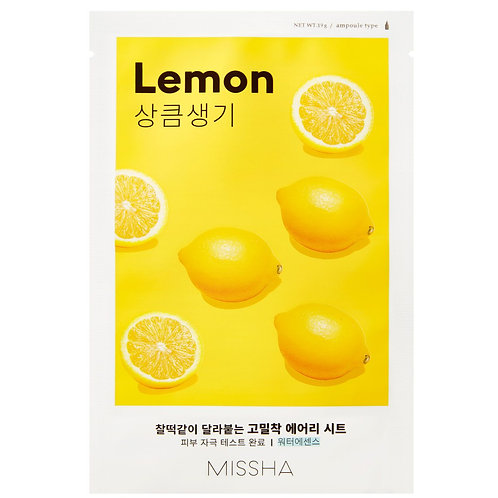 [Missha] Airy Fit Sheet Mask Lemon