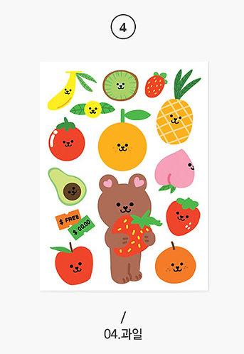 My Juicy Bear 04 Fruit
