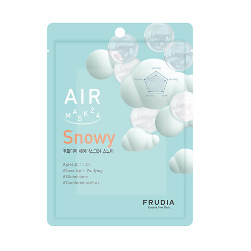 [Frudia] AIR Mask 24 Snowy