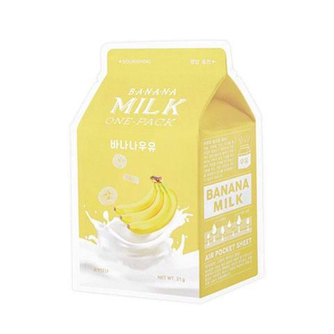 [A'pieu] Banana Milk One-Pack Facemask