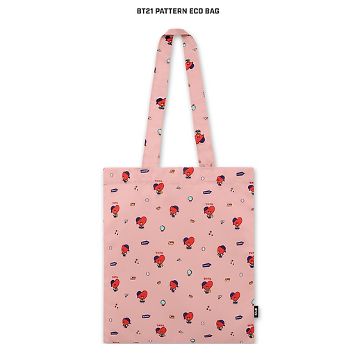 BT21 Pattern Eco Bag