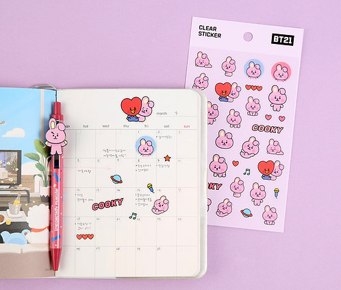 BT21 Baby Clear Sticker