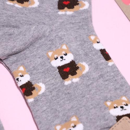Shiba In Love Socks