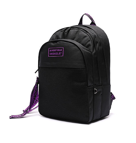 ALMOST BLUE X UNION OBJET ULTRA VIOLET BACKPACK -BLACK