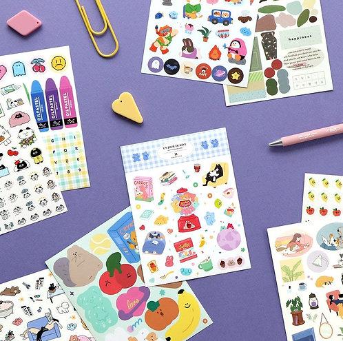 Diary Deco Sticker Pack V. 11