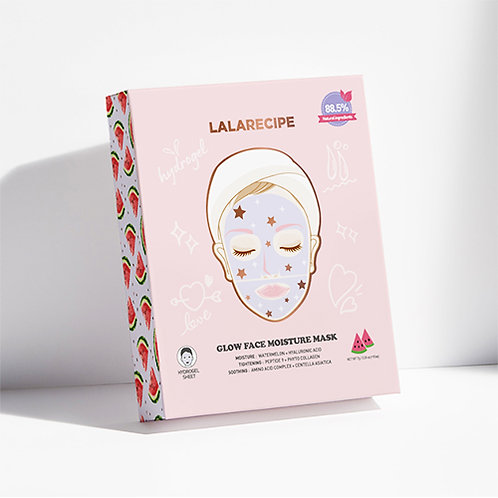 [LaLaRecipe] Glow Face Moisture Mask