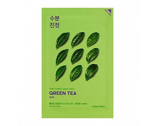 [Holika Holika] Pure Essence Mask Green Tea