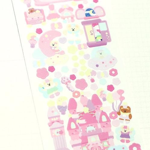 Pink Castle Dream Sticker
