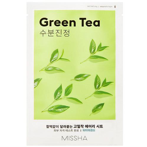 [Missha] Airy Fit Sheet Mask Green Tea