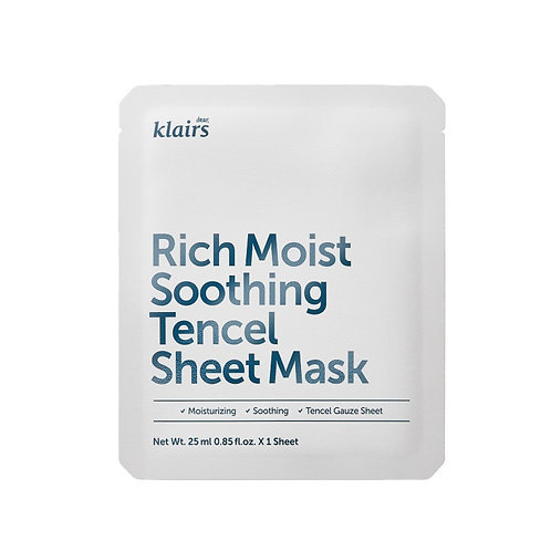 [Klairs] Rich Moist Soothing Tencel Mask