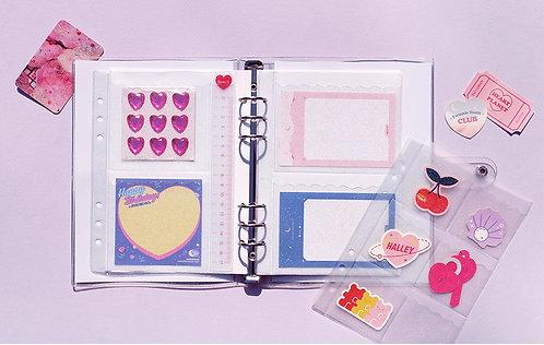 Deco Pocket Set for Binder Twinkle