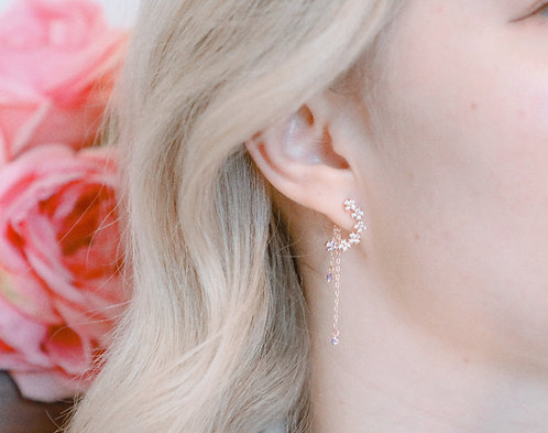 Lavender Rain Earrings