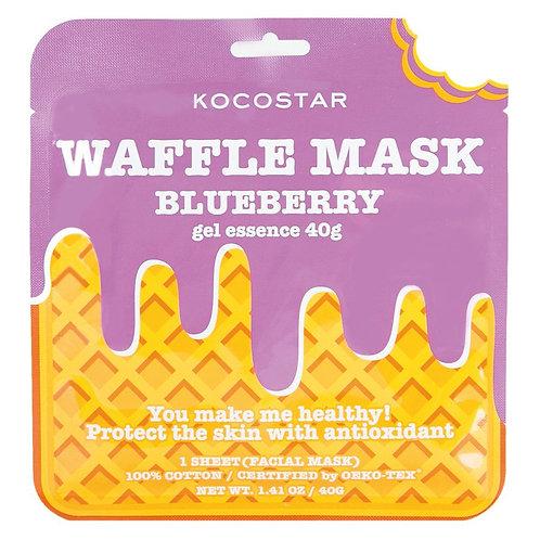 [Kocostar] Waffle Mask Blueberry