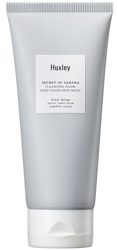 [Huxley] Cleansing Foam; Deep Clean, Deep Moist