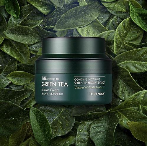 [Tonymoly] The Chok Chok Green Tea Intense Cream