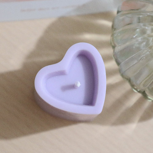[Roo in Home] Hand Made Heart Candle
