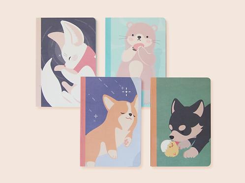 Animal Check Notebook