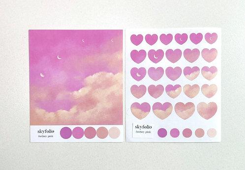 Fantasy Pink Sticker