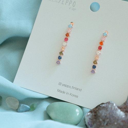Rainbow Treasures Earrings