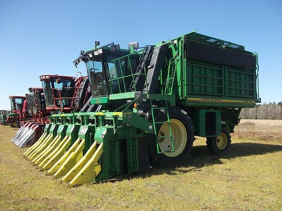 Line Of Farm Equipment
