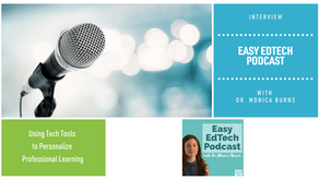 Using Tech Tools to Personalize Professional Learning