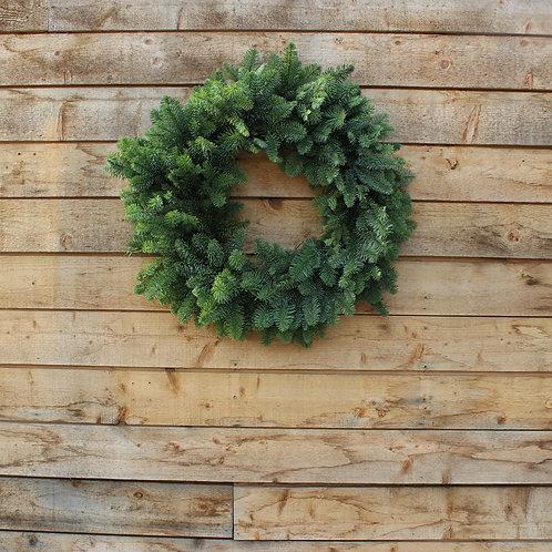 "Noble Fir Wreath 24"""