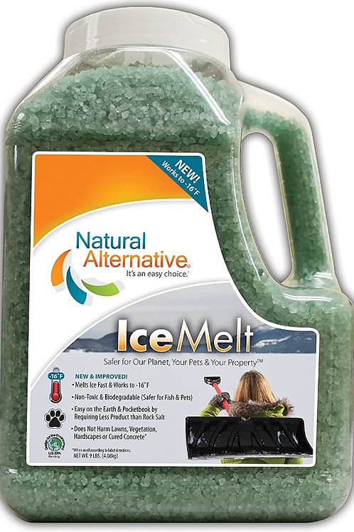 Ice Melt Natural 9lb Shaker