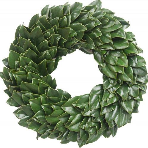 """Magnolia Wreath 24"""""""