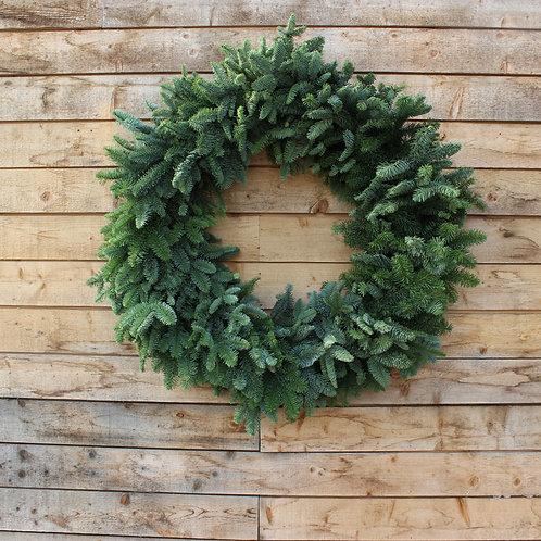 "Noble Fir Wreath 36"""