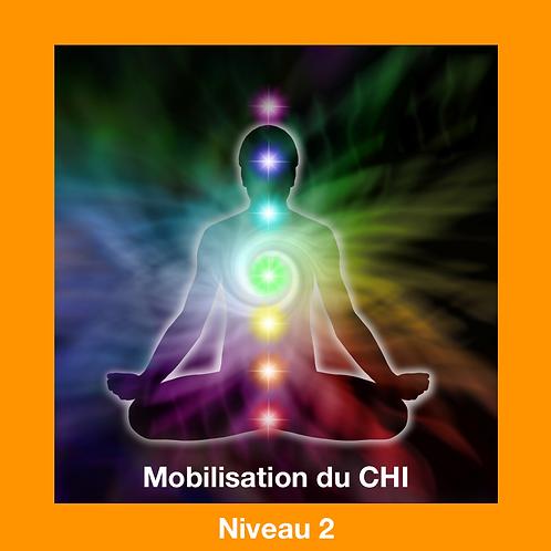 Mobilisation de Chi à distance- Niveau 2 (en 6 versements)