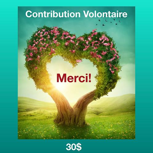 Contribution Volontaire 30$