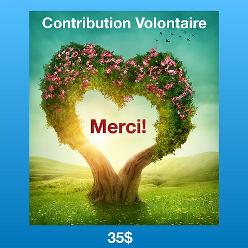 Contribution Volontaire 35$