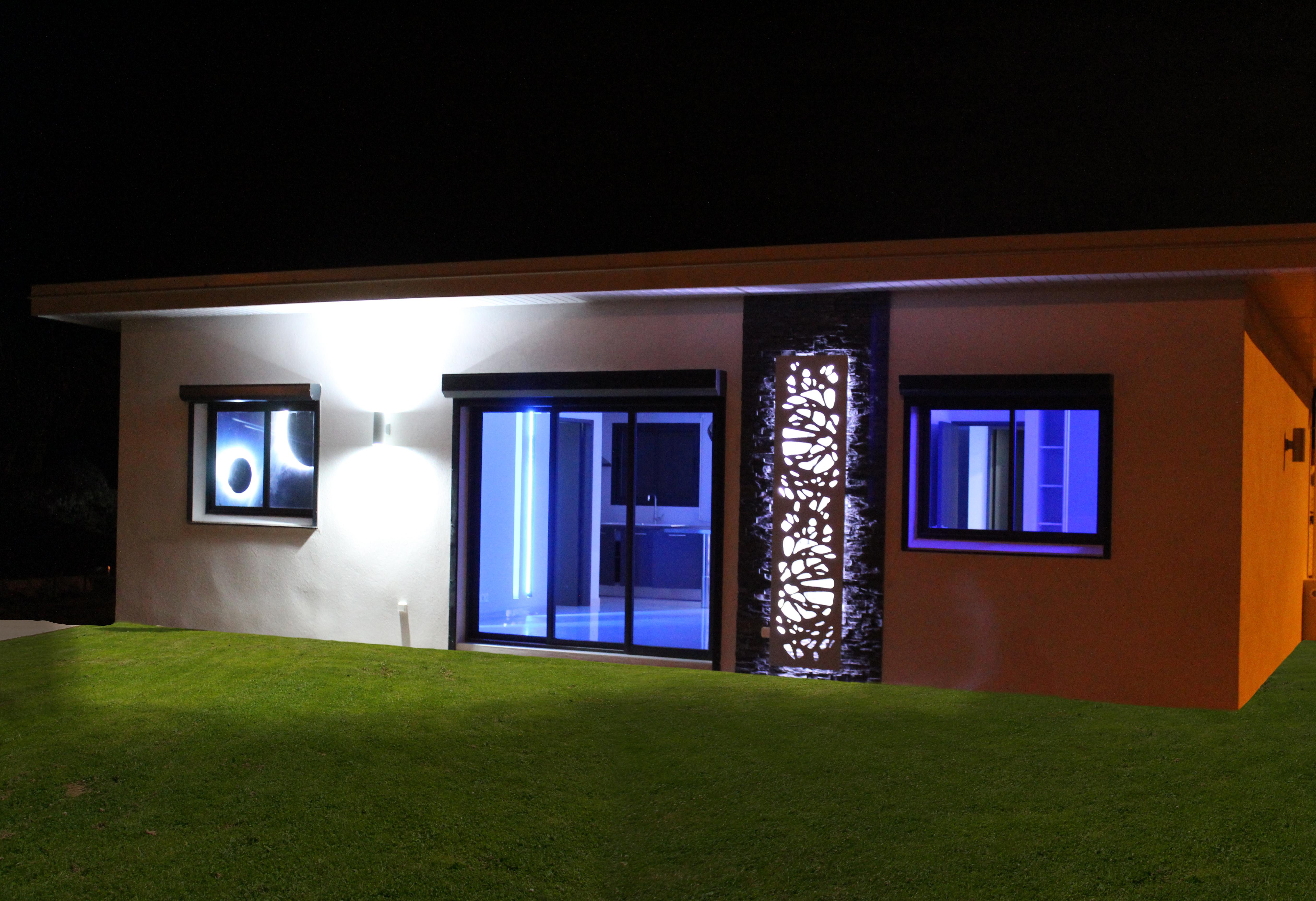 facade nuit