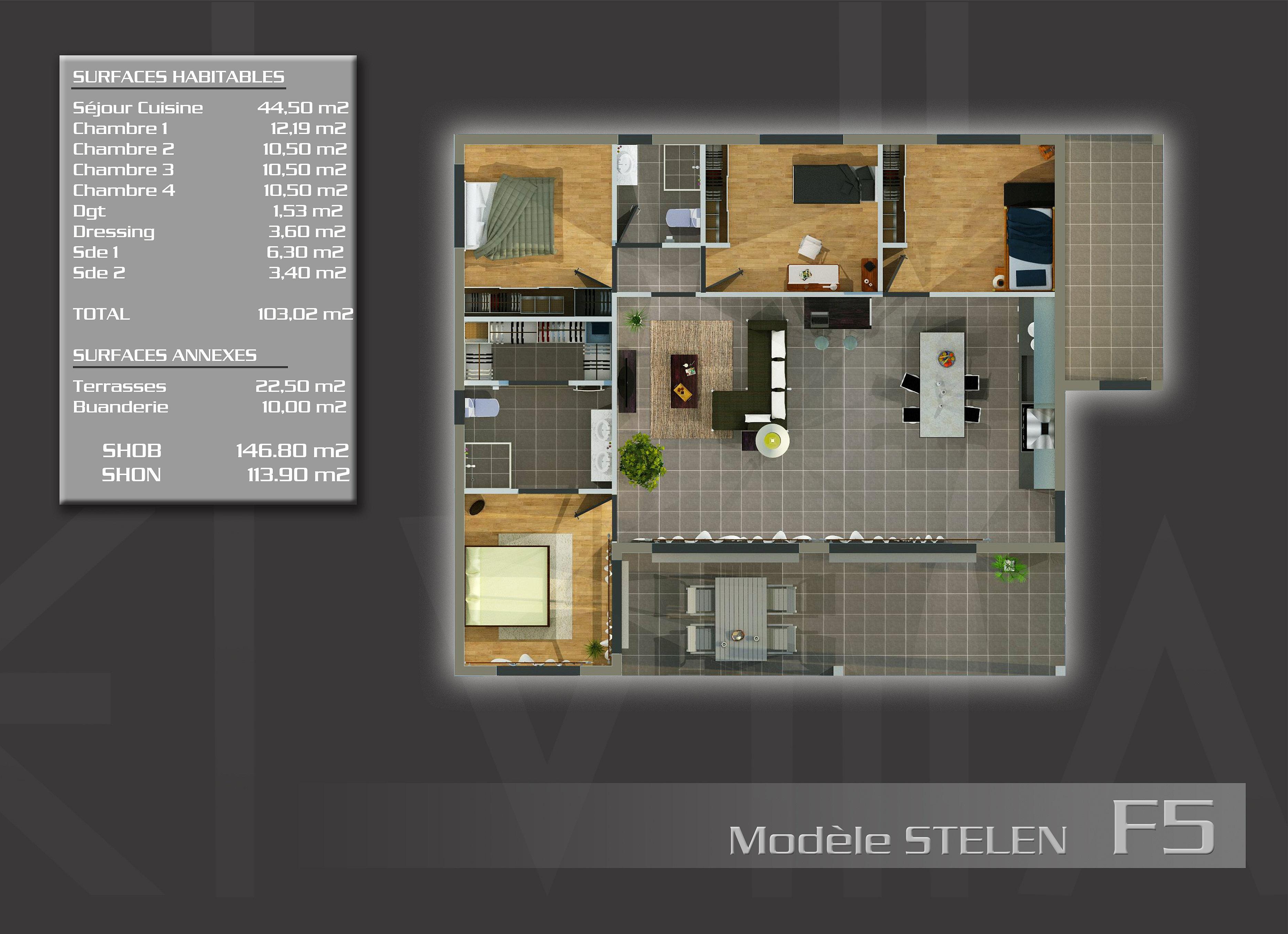 Plan de maison nouvelle caledonie for Nouvelle conception de plan de maison