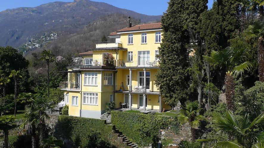 Villa Südostfassade