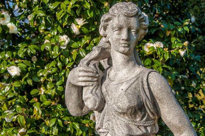 Gartenstatue Diana