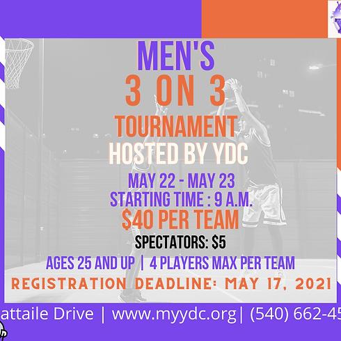 Men's 3 on 3 Tournament