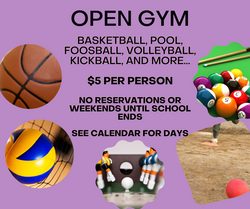 Open Gym - $5/person