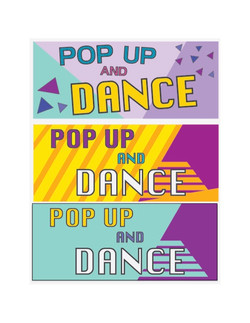 Dance Competition Banners
