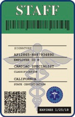 Hospital Badge