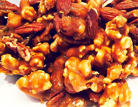 Toffee Mixed Nut Popcorn (4 bags)