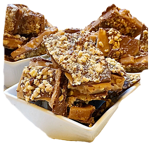 Vegan Almond toffee candy