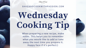 Wednesday Cooking Tips