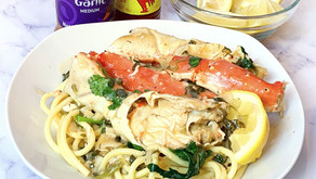 Scampi Crab Legs & Pasta
