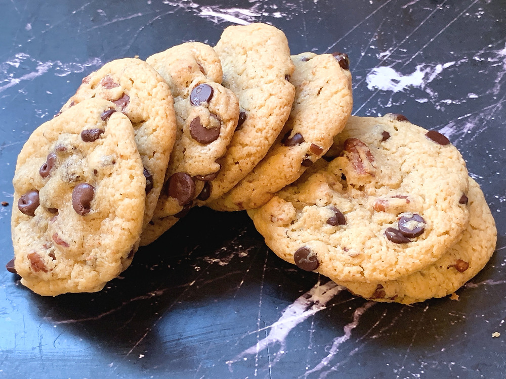 Chick Pea Chocolate Chip Cookies